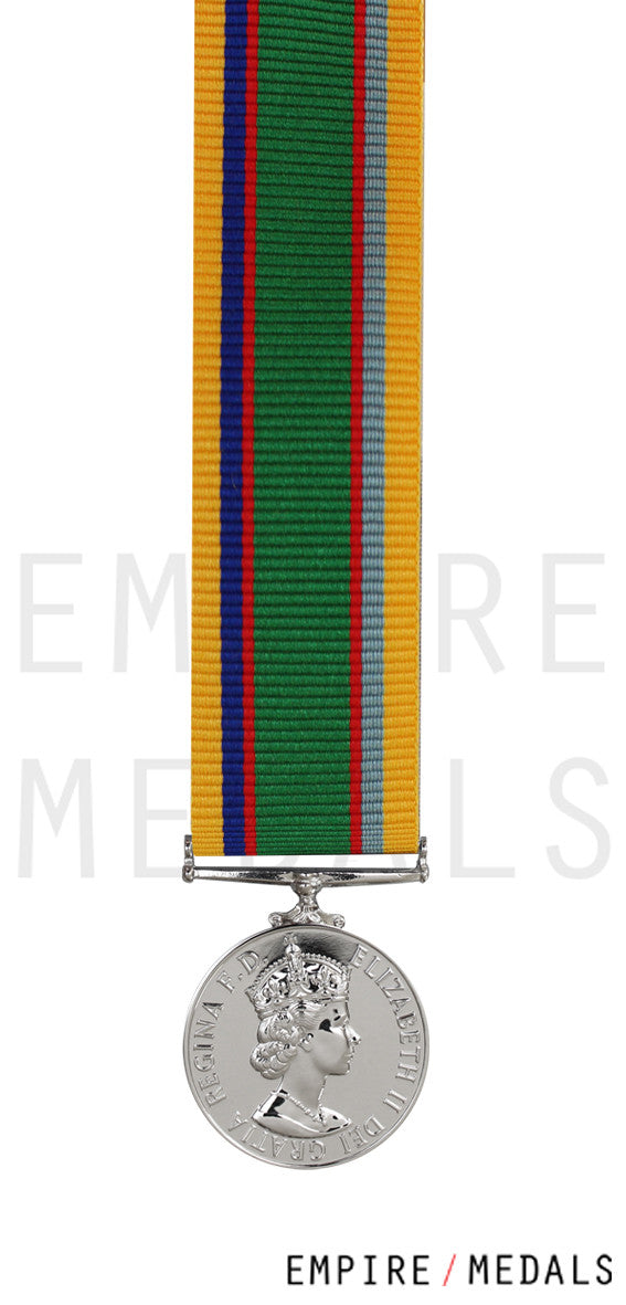 Cadet Forces Medal MINIATURE