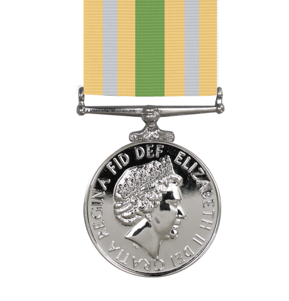 the civillian service medal for afghanistan and ribbon