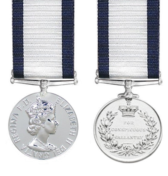 Conspicuous Gallantry Medal EIIR