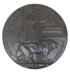 Memorial Plaque - The Death Penny with Memorial Scroll