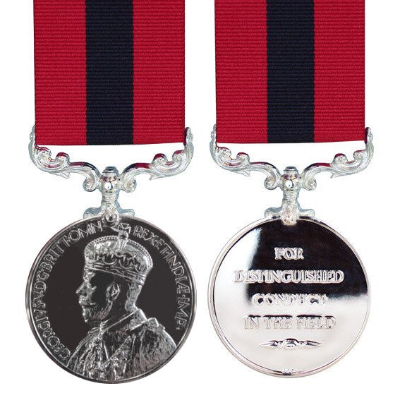 Distinguished Conduct Medal - GV - Crowned Head