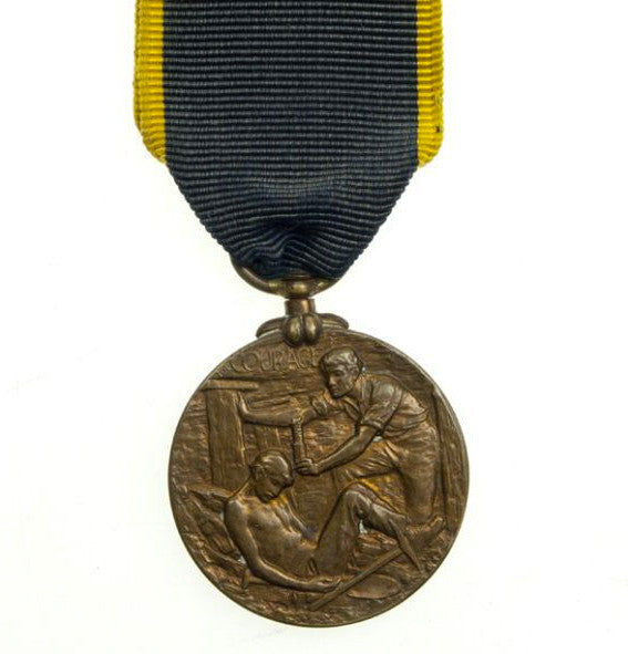 Edward Medal 2nd Class Mines GVI Sovereign