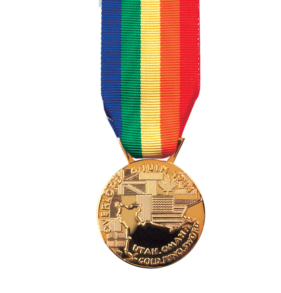 Operation Overload Full Size Medal