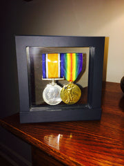 Desktop Medal Frame in Black