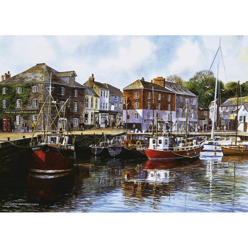 Padstow Harbour 1000 peice Jigsaw