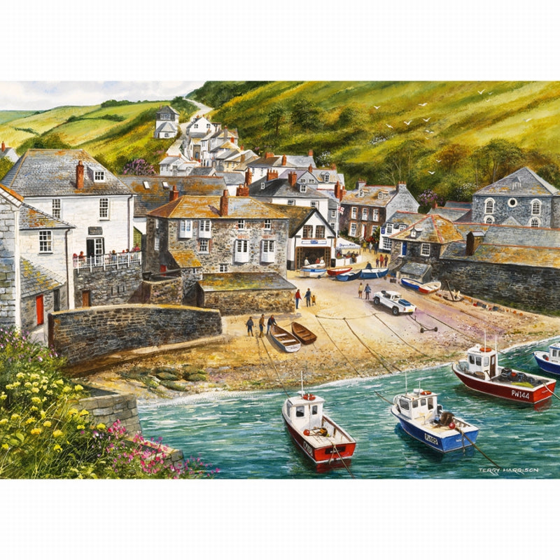 Port Isaac 500pc Jigsaw