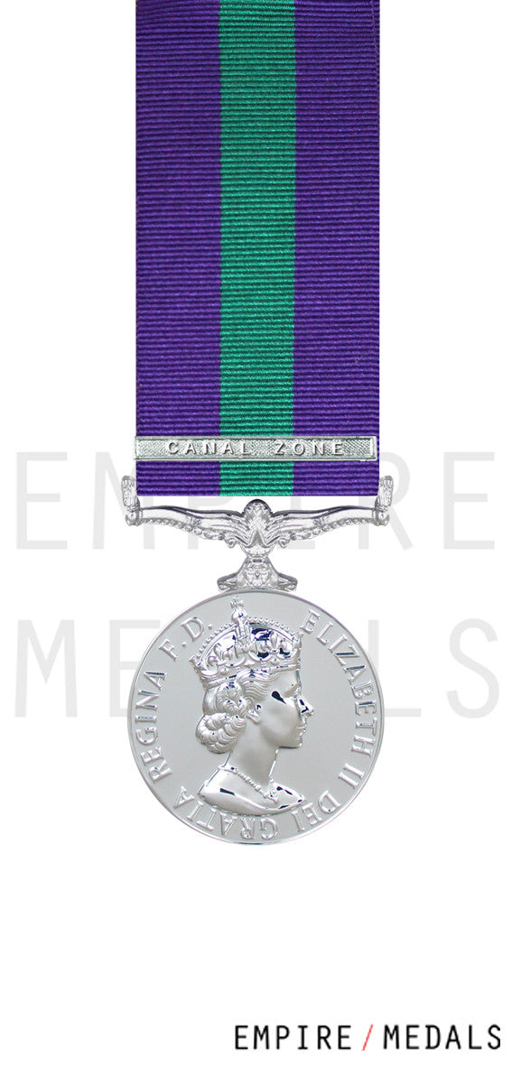 General-Service-Miniature-Medal-EIIR-Canal Zone