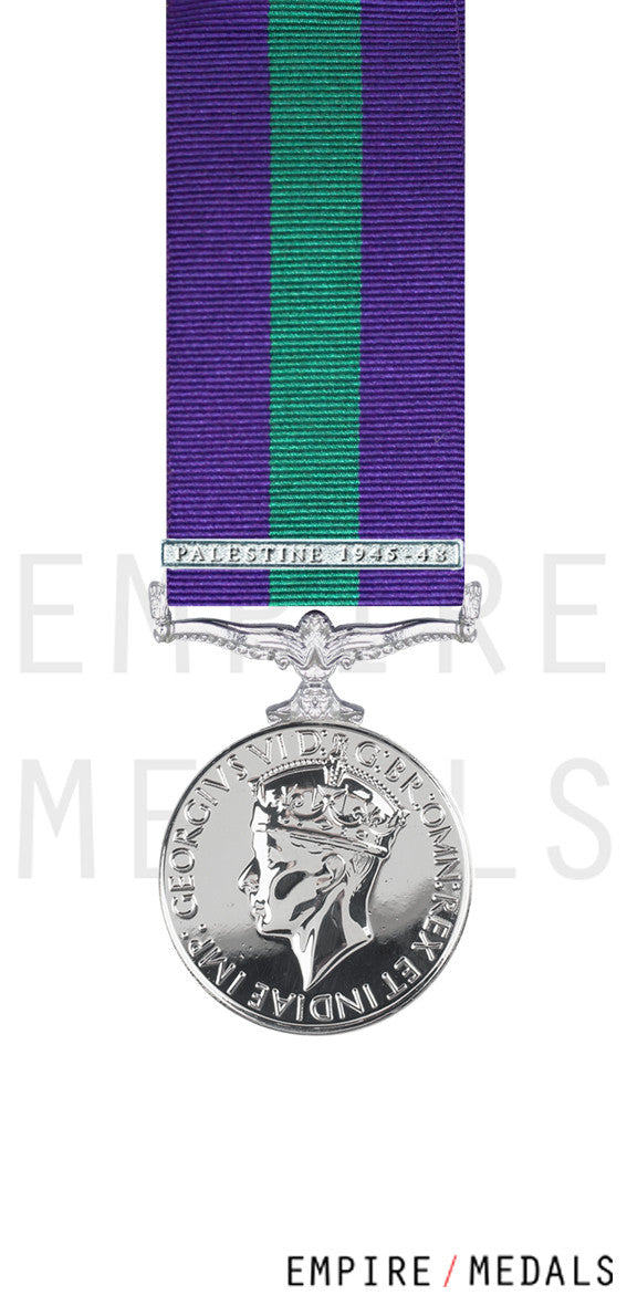 General-Service-Medal-Palastine-1945-48-Miniature