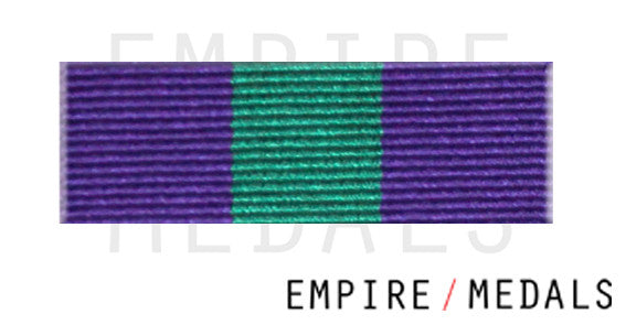 GSM 18-62 Medal Ribbon Bar