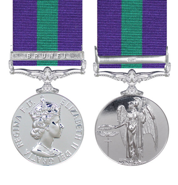 general service medal brunei