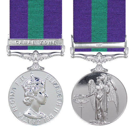 General Service Medal EIIR Canal Zone