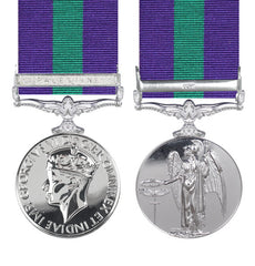 General Service Medal (GSM) with Palestine clasp