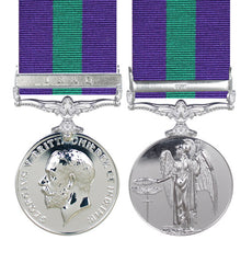 General Service Medal (GSM) with Iraq clasp