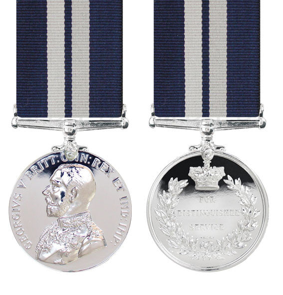 Distinguished service medal George V with ribbon