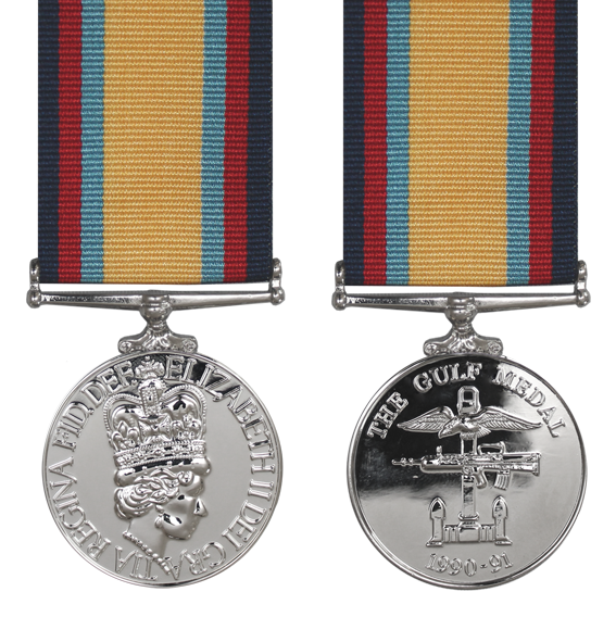 the gulf war medal