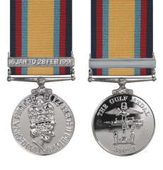 Gulf Medal Full Size With 16th January Bar