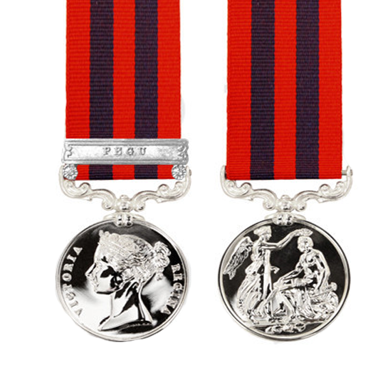 India General Service Medal Miniature