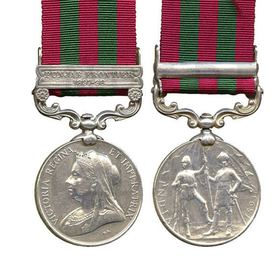 India Medal 1895 - 1902 Miniature