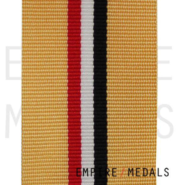 Iraq War Medal Ribbon - Roll Stock