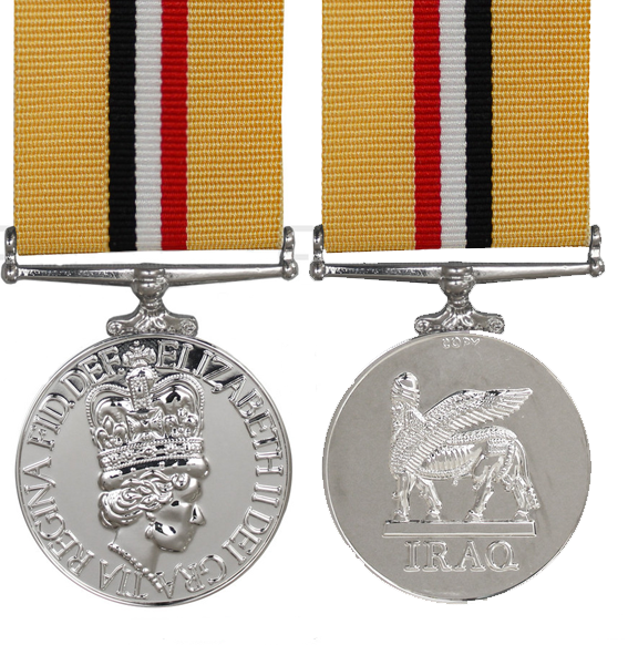 the iraq op telic full size medal