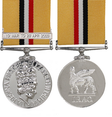 Iraq Medal Op Telic with 19th March Bar