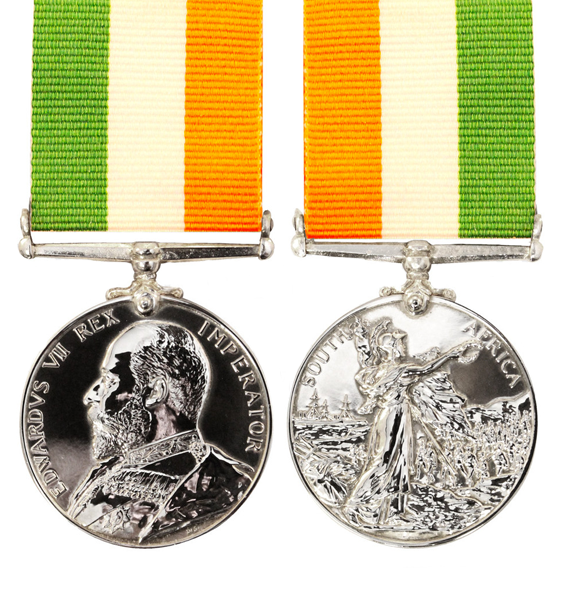 the kings south africa full size replica medal and ribbon