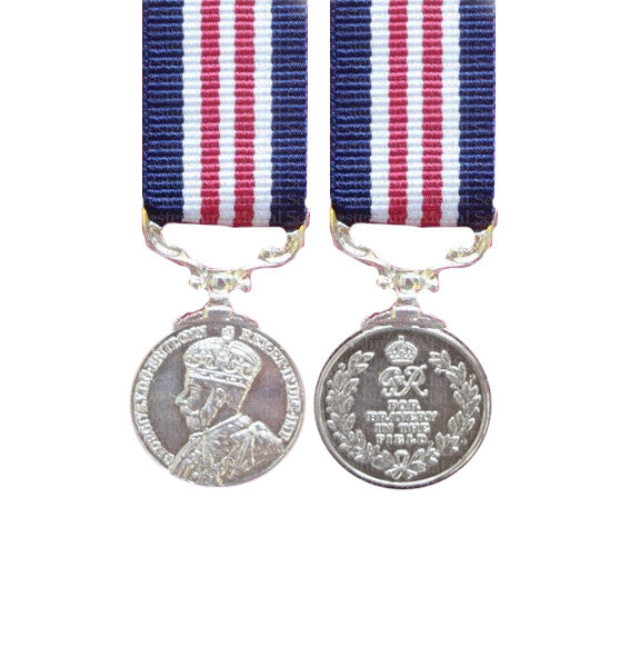 Military Medal GV (Crowned Head) Miniature