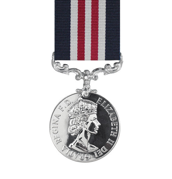 military medal EIIR with ribbon