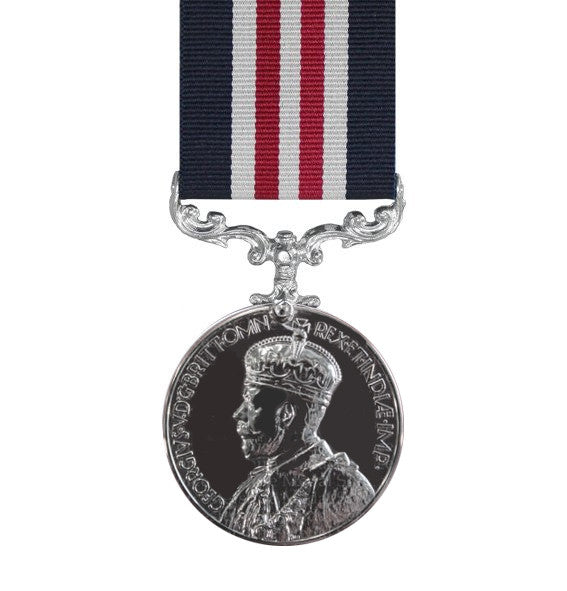 Military Medal GV - Crowned Head