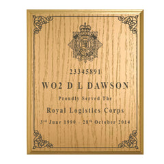 Solid Wood Plaque - your design