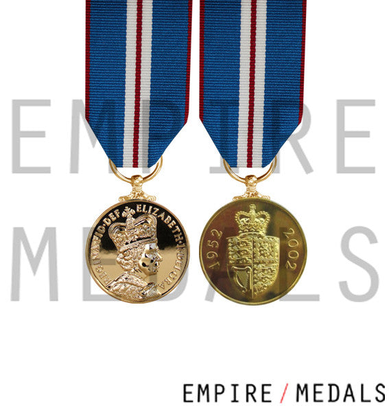 Queens Golden Jubilee Miniature Medal