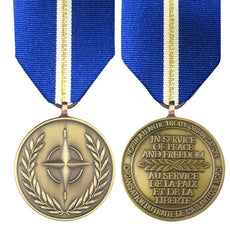 NATO Eagle Assist Full Size Medal