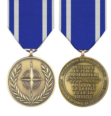 NATO Macedonia Full Size Medal