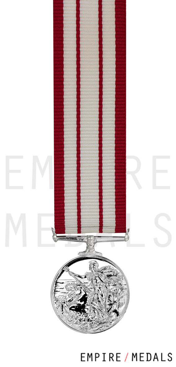 Naval-General-Service-Miniature-Medal-1915-1962-GVI-Bomb-&-Mine-Clearance 1945-53