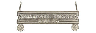 North West Frontier Full Size Clasp 1936 - 37