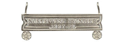 North West Frontier Full Size Clasp 1937 - 39