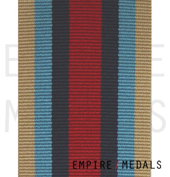 OSM Afghanistan Medal Ribbon - Roll Stock