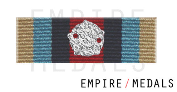 OSM Afghanistan Medal Ribbon Bar with Rosette