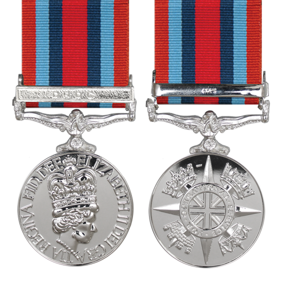 operational serive medal democratic republic of congo
