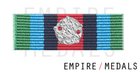 OSM Sierra Leone Medal Ribbon Bar with Rosette