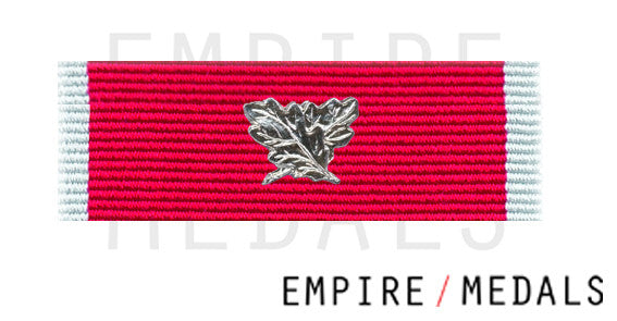 Obe Civilian Ribbon Brooch Bar with crossed leaves