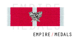 BEM Military Ribbon Brooch Bar