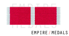 Obe Military Ribbon Brooch Bar with crossed leaves