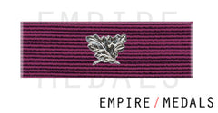 BEM Military first type Ribbon Brooch Bar with laurel leaf