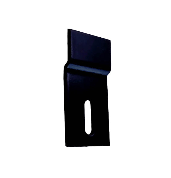 Offset Fixing Bracket - 35 x 24mm - Zinc Alloy - Black Finish