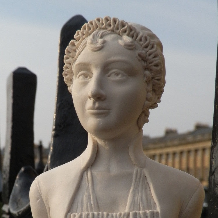 Bust of Jane Austen