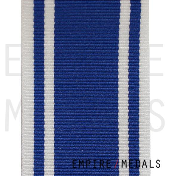 Police Long Service Medal Ribbon - Roll Stock