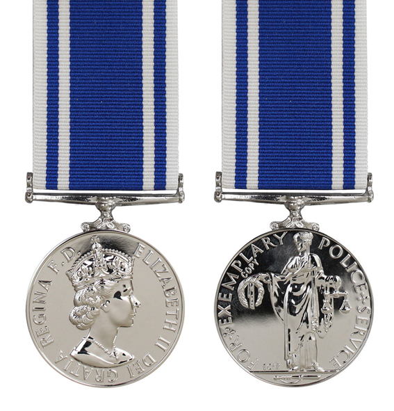 Long & Meritorious Service from Empire Medal Ltd – Tagged