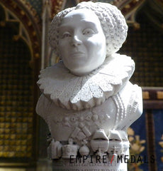 Bust of Queen Elizabeth l