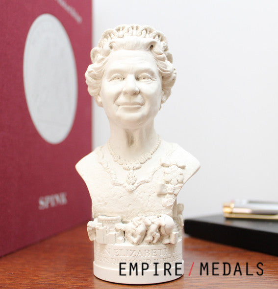 Bust of Queen Elizabeth II